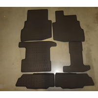 Mazda CX-9 Rear All Weather Floor Mats ( set of 6) 00008BN35