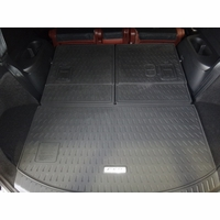 Mazda CX-9 Rear Rubber Cargo Tray (3-piece) 00008BN10