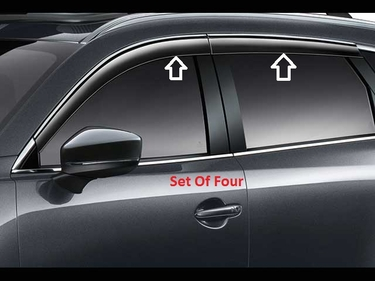 2016 2017 2018 2019 Mazda CX-9 Side Windows Visors Deflectors (set of four) TK78V3700