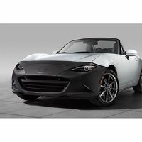 Mazda MX-5 Miata Front Mask Bra without front airdam installed 00008GD12A