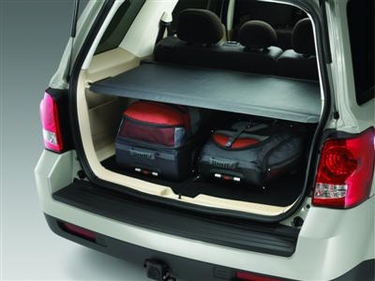 Mazda Tribute Cargo Cover Charcoal - Retractable