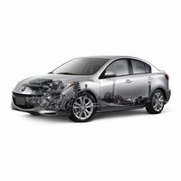 Mazda 3 Sedan (4-Door) Maintenance Parts 2010 2011 2012 2013