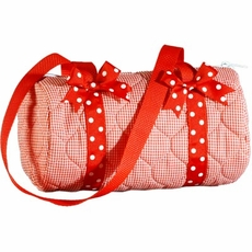 Mini Duffle Bag/Make-up Bag
