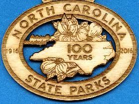 100th Anniversary Laser Engraved Wood Magnet