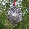 100th Anniversary Pewter Charm Ornament