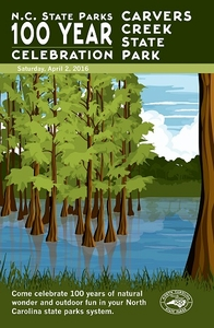 Carvers Creek State Park Commemorative Poster