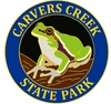 Carvers Creek State Park Frog Lapel Pin