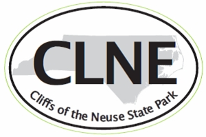 "Cliffs of the Neuse Bumper Sticker  4"" x 6"""