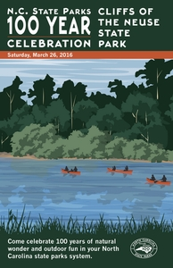 Cliffs of the Neuse State Park Commemorative Poster