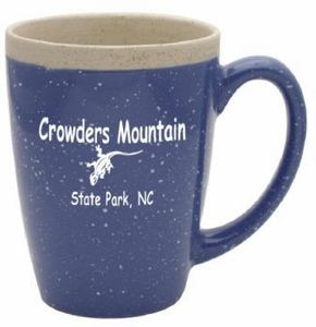 Crowders Mountain  16oz. Blue Adobe Coffee Mug