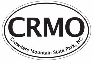 "Crowders Mountain Bumper Sticker  4""x 6"""