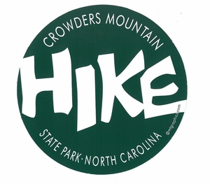 Crowders Mountain State Park Hike decal