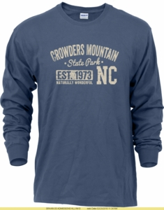 Crowders Mountain State Park Long Sleeve T-shirt