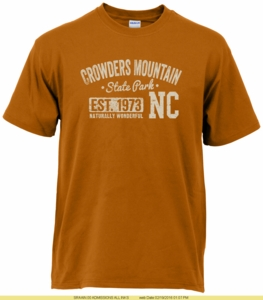 Crowders Mountain State Park T-shirt