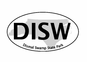 "Dismal Swamp Bumper Sticker 4""x6"""