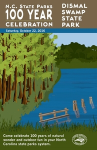 Dismal Swamp State Park Commemorative Poster