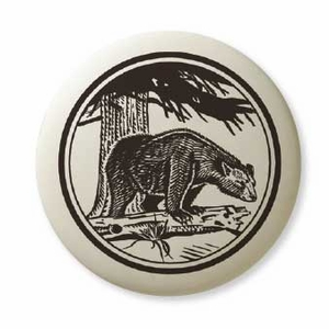 Dismal Swamp State Park Porcelain Ornament - Black Bear