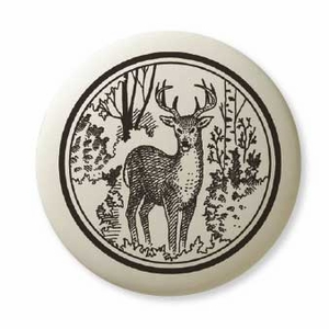 Dismal Swamp State Park Porcelain Ornament - Whitetail Deer