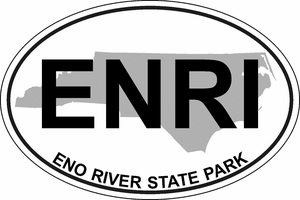 "Eno River Bumper Sticker 4""x6"""