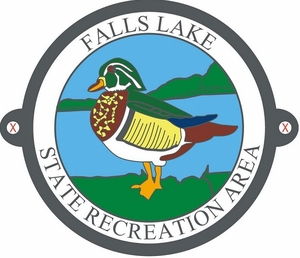 Falls Lake State Recreation Area Hiking Medallion