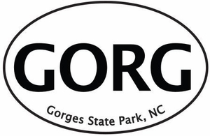 "Gorges Bumper Sticker  4"" x 6"""