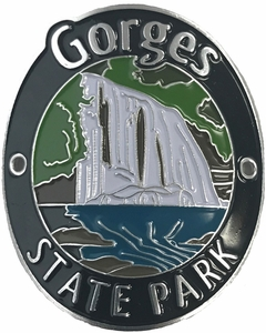 Gorges State Park Hiking Medallion