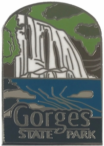 Gorges State Park Lapel Pin