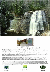 Gorges State Park Note Cards