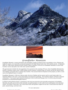 Grandfather Mountain State Park Note Cards