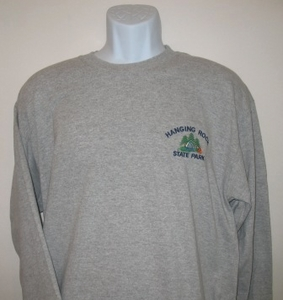 Hanging Rock State Park Adult Long Sleeve T-Shirt