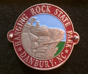 Hanging Rock Hiking Medallion