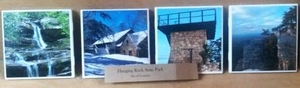 Hanging Rock State Park set of 4 ceramic coasters