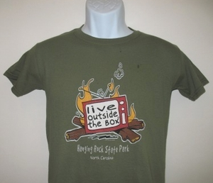 Hanging Rock State Park youth t-shirt