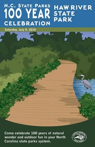 Haw River State Park Commemorative Poster