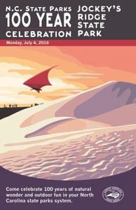 Jockey's Ridge State Park Commemorative Poster