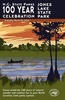 Jones Lake State Park Commemorative Poster