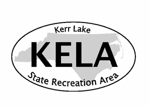 "Kerr Lake Bumper Sticker  4"" x 6"""