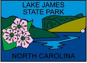 Lake James Hiking Medallion