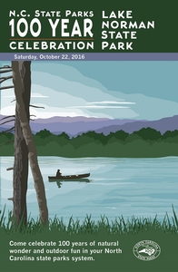 Lake Norman State Park Commemorative Poster