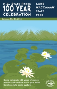 Lake Waccamaw State Park Commemorative Poster