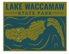 Lake Waccamaw State Park Hiking Medallion