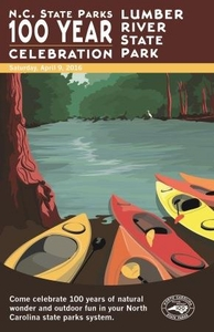 Lumber River State Park Commemorative Poster