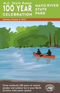 Mayo River State Park Commemorative Poster