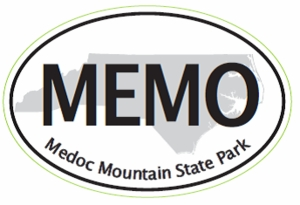 "Medoc Mountain Bumper Sticker  4"" x 6"""