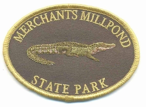 Merchants Millpond Alligator Patch
