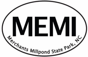 "Merchants Millpond Bumper Sticker  4"" x 6"""