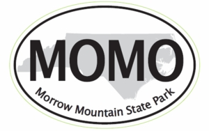 "Morrow Mountain Bumper Sticker  4""x 6"""