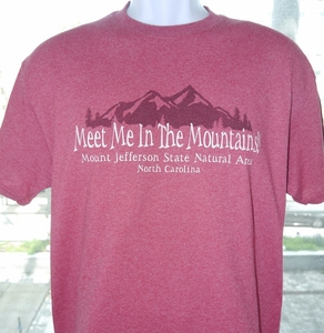 Mount Jefferson State Natural Area Short Sleeve T-shirt