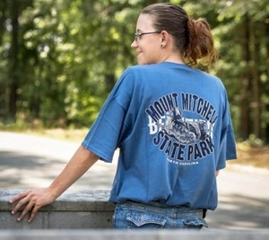 Mount Mitchell Adult T-shirt