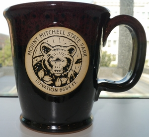Mount Mitchell Coffee Mug
